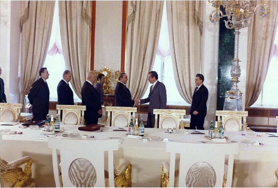 Nixon and Brezhnev – Partners in Détente