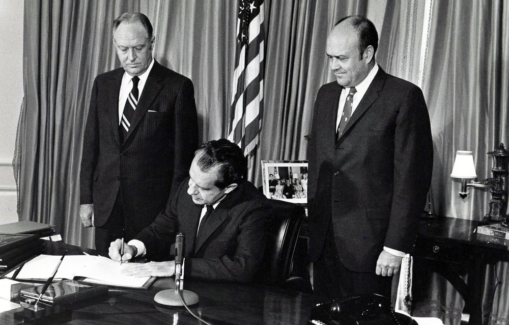 Image result for nuclear non proliferation treaty 1970 signing images