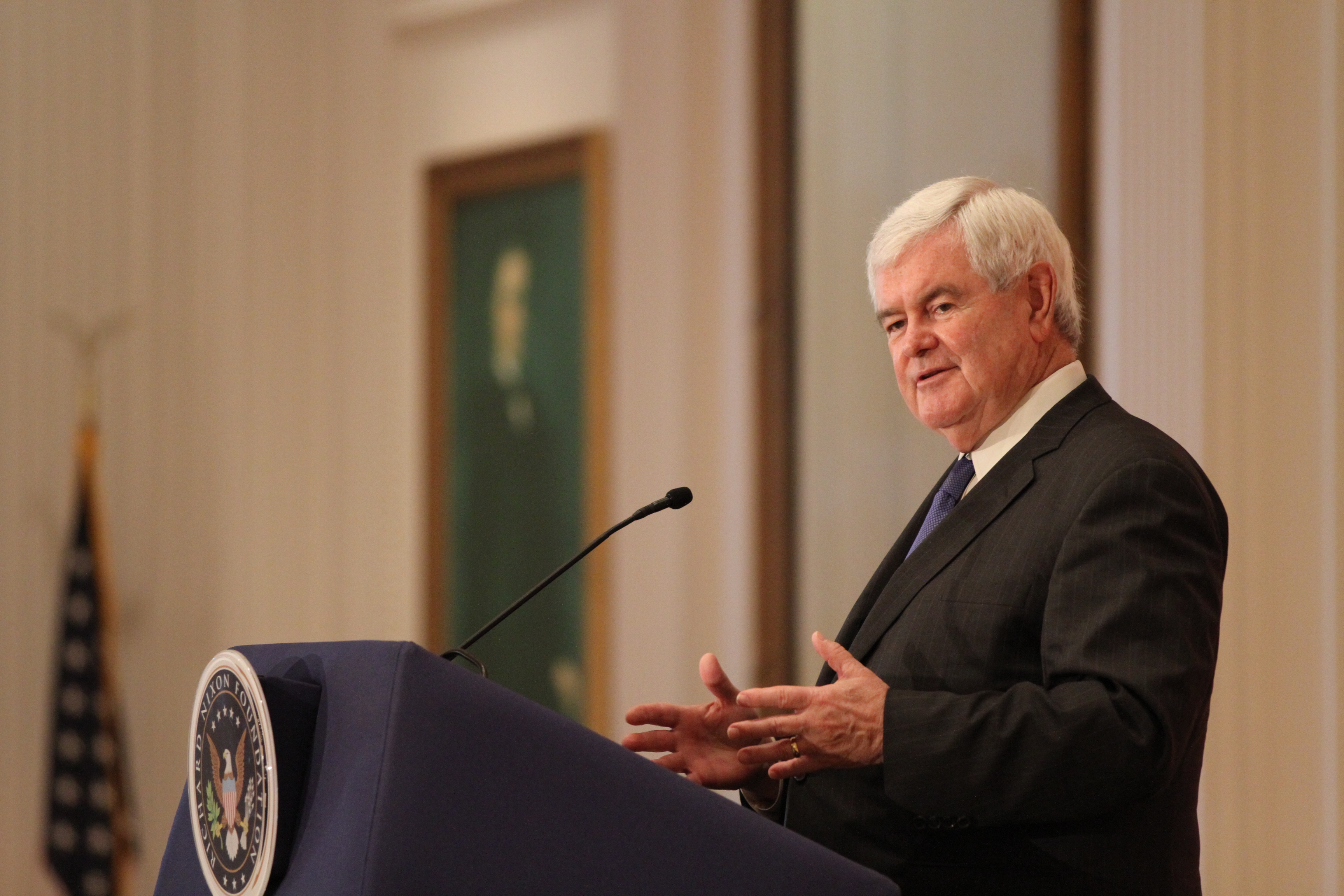 """Newt Gingrich: New Museum is """"Remarkable"""""""