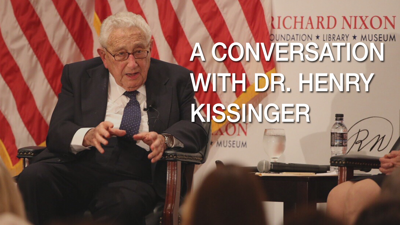 A Conversation with Dr. Henry Kissinger