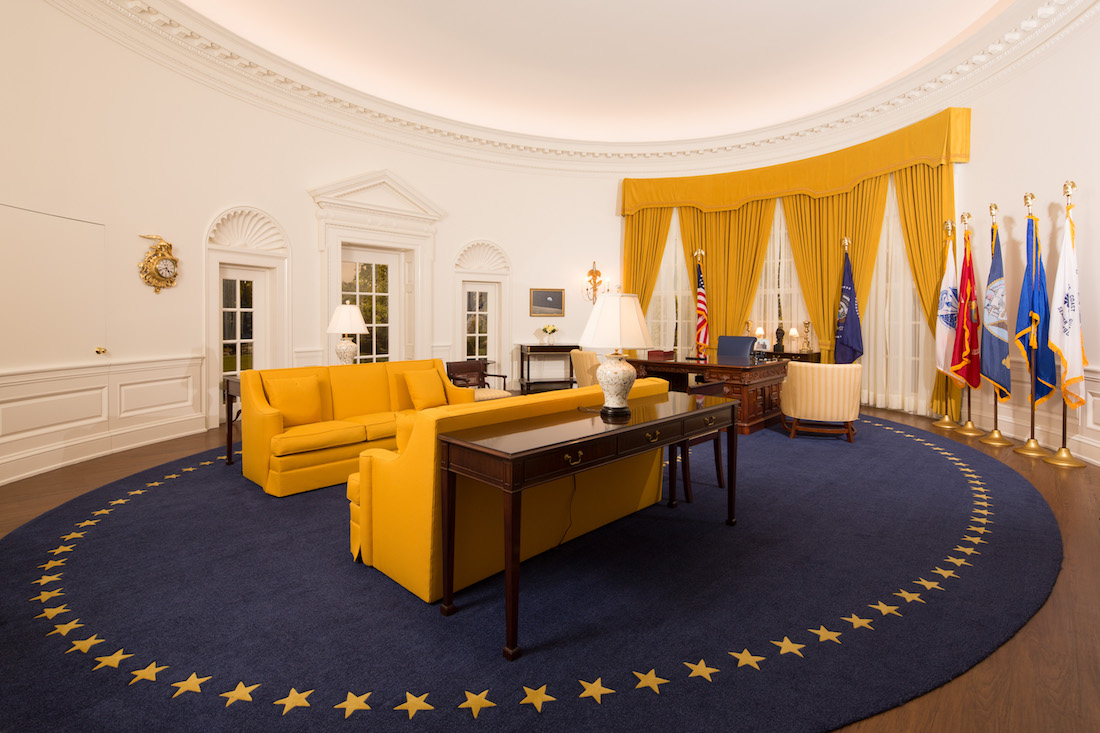 Oval Office Now On Display At Nixon Library