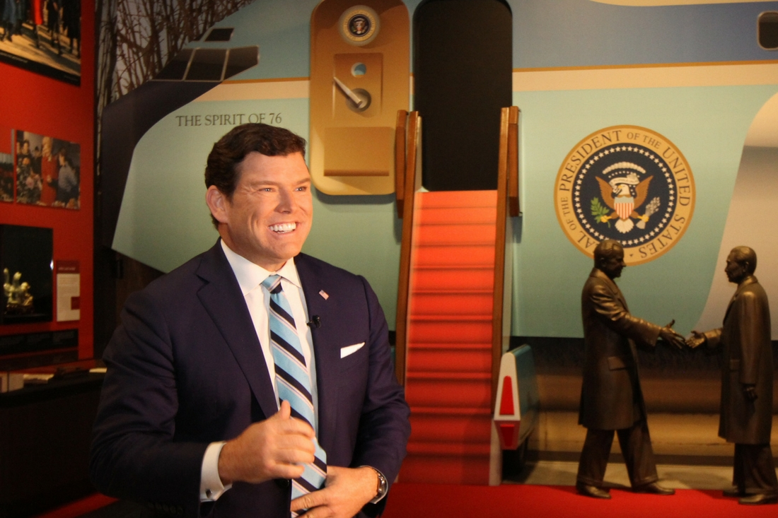 Bret Baier Talks Ike at the Nixon Library