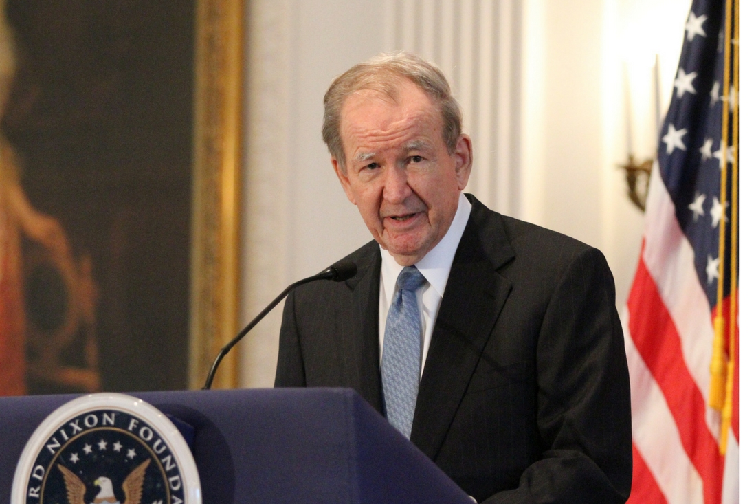 "Video: Pat Buchanan, Author of ""Nixon's White House Wars"""