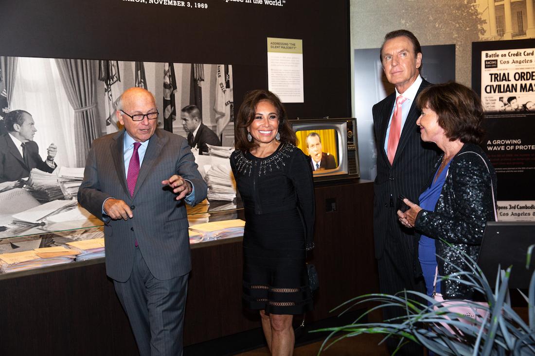 Judge Jeanine Pirro visits the Richard Nixon Library