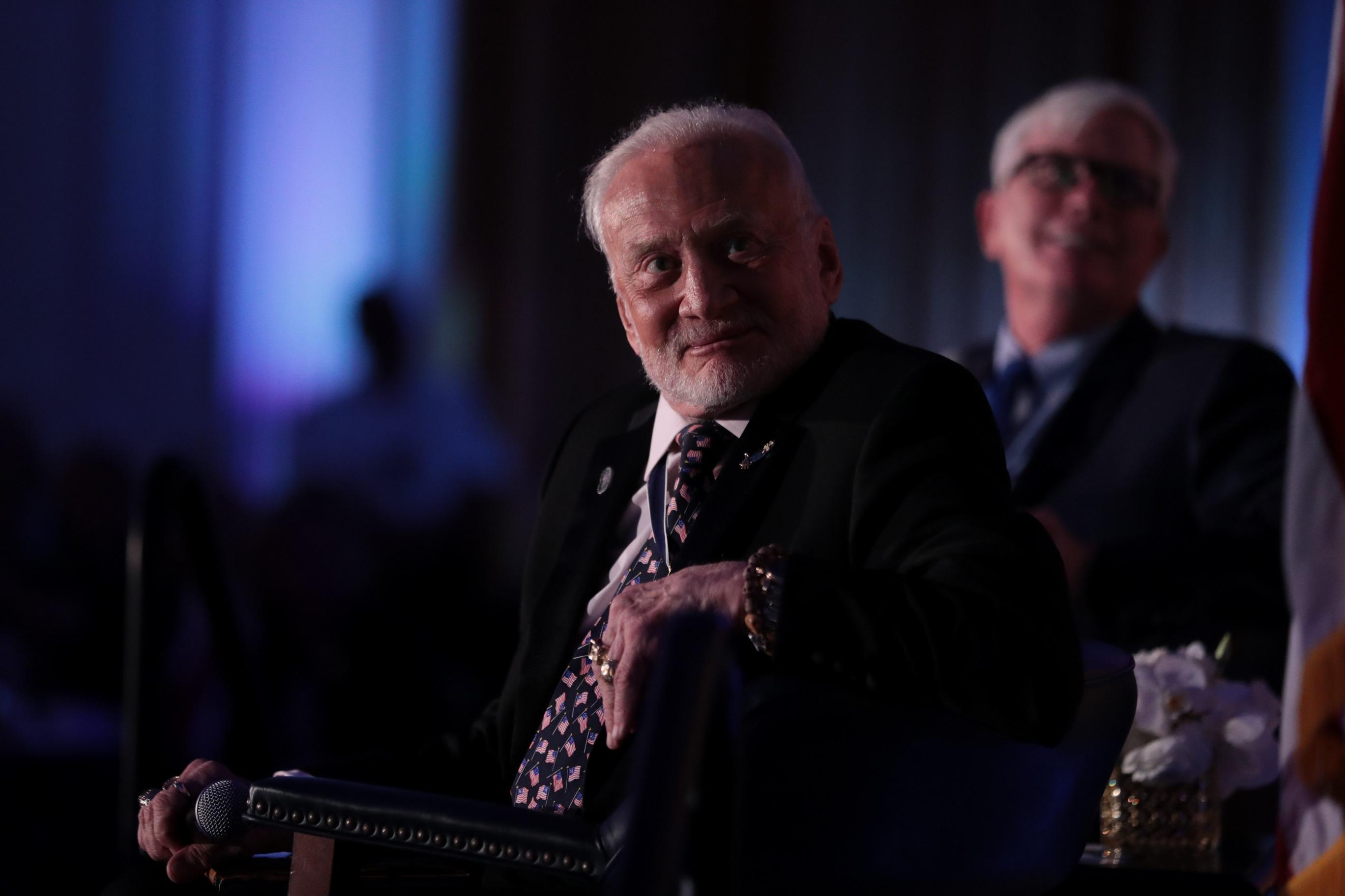 Podcast: Buzz Aldrin on Apollo 11 at 50