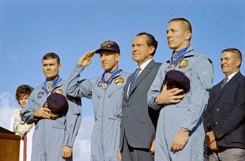 Apollo 13: Medal of Freedom Ceremony