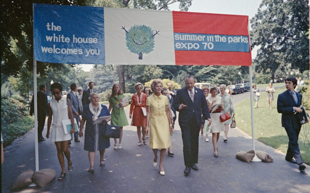 New Online Exhibit: Summer in the Parks with Pat Nixon