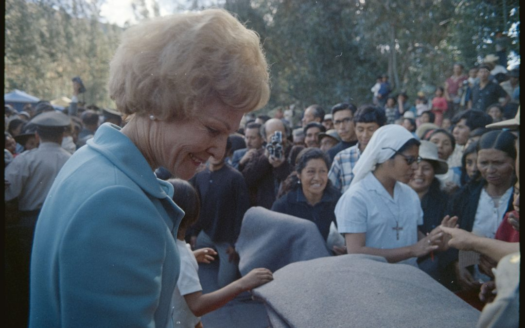 Online Exhibit: Pat Nixon Delivers Disaster Relief to Peru