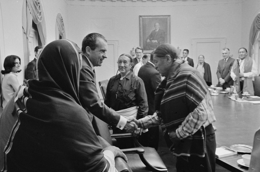 White House Recognizes 50th Anniversary of President Nixon's Indian Self-Determination Policy