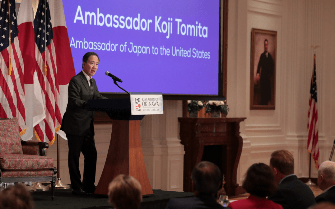 50th Anniversary of the Reversion of Okinawa Celebrated as a Landmark for U.S.-Japan Relations