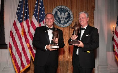 Pompeo, O'Brien honored at Nixon Library