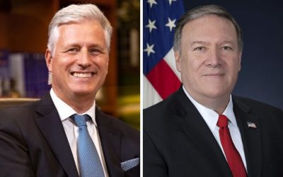 Mike Pompeo, Robert O'Brien to Receive Awards at the Nixon Library
