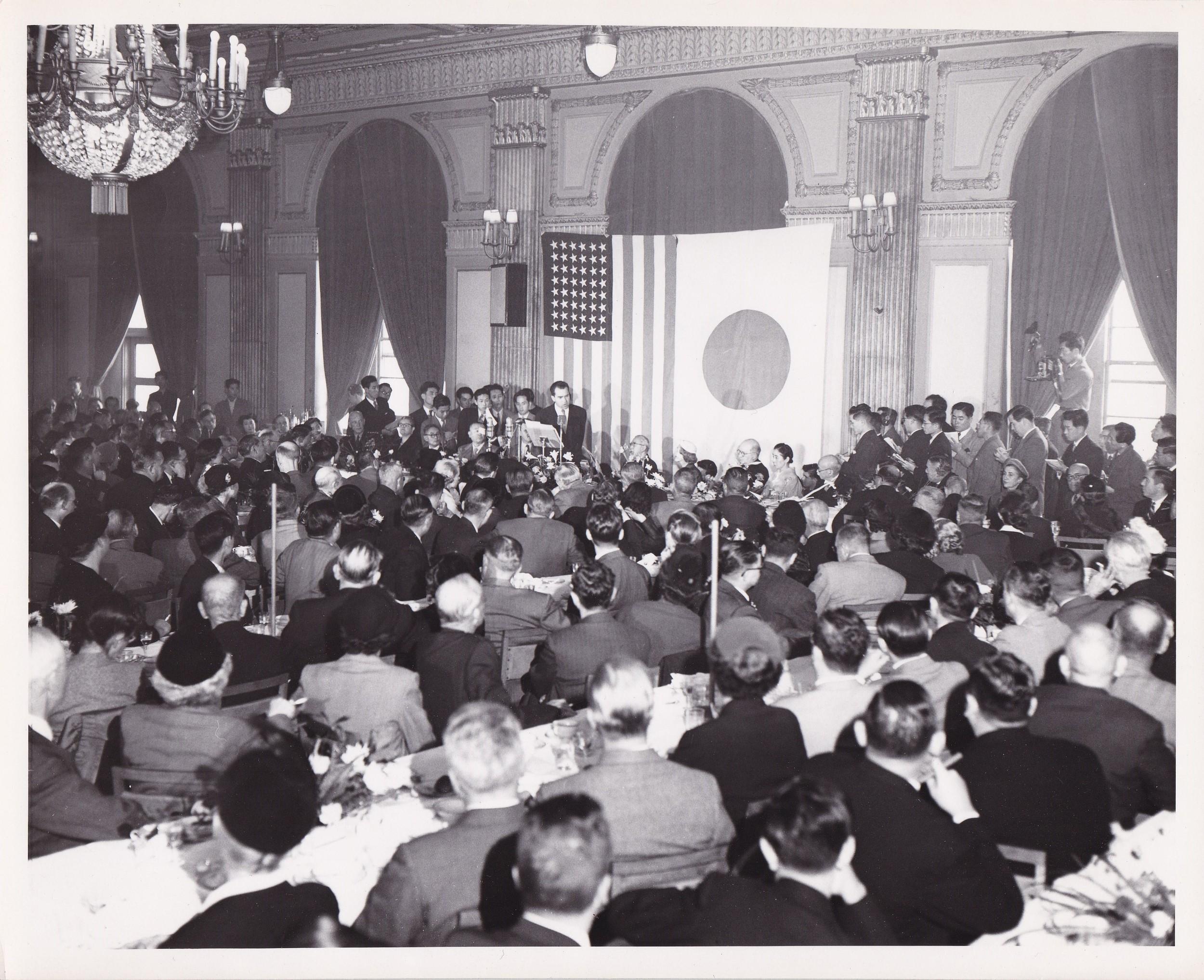 1953: VP Nixon in Japan
