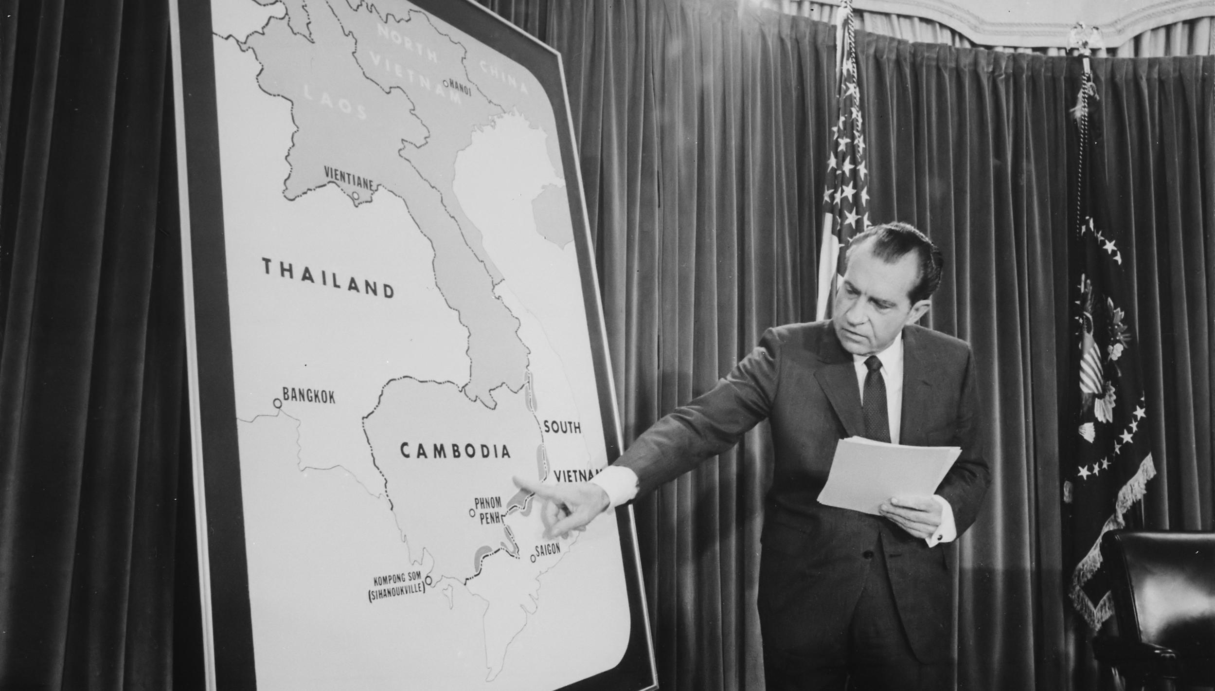 46 Years Ago – RN Announces Cambodia Incursion